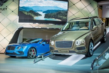 Bentley at Frankfurt motor show Photo: James Lipman