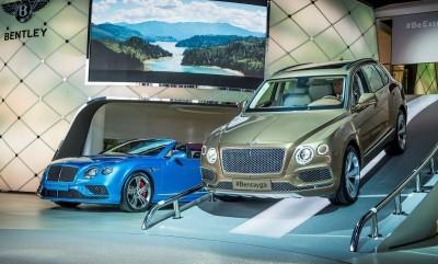 Bentley at Frankfurt motor show  Photo: James Lipman