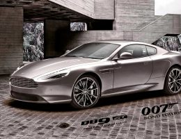 2016 Aston Martin DB9 GT Bond Edition – 150-Unit Special Wears SPECTRE Silver, Custom 007 Touches