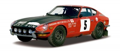 Datsun 240Z Safari Rally Car 2