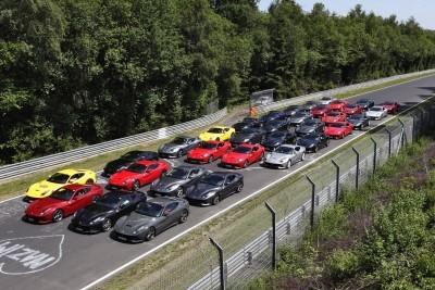 Ferrari Car Cavalcade 2015 Nurburgring 2