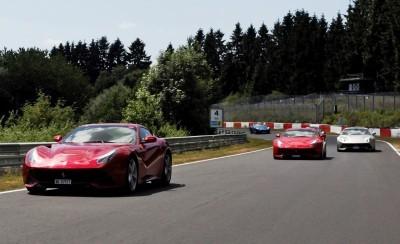 Ferrari Car Cavalcade 2015 Nurburgring 4