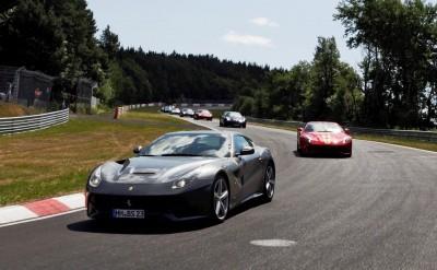 Ferrari Car Cavalcade 2015 Nurburgring 6