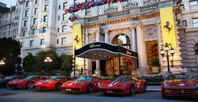 Ferrari Car Cavalcade 2015 USA 11