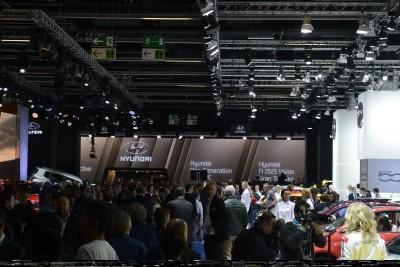 Frankfurt IAA 2015 - Showfloor Mega Gallery 323