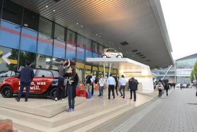 Frankfurt IAA 2015 - Showfloor Mega Gallery 404