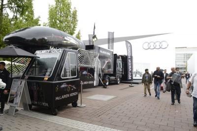 Frankfurt IAA 2015 - Showfloor Mega Gallery 405