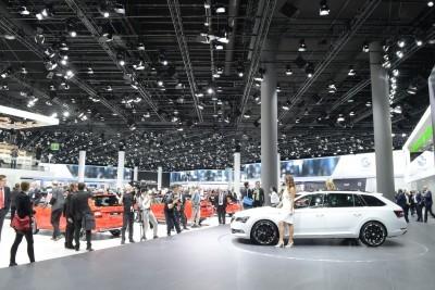Frankfurt IAA 2015 - Showfloor Mega Gallery 407