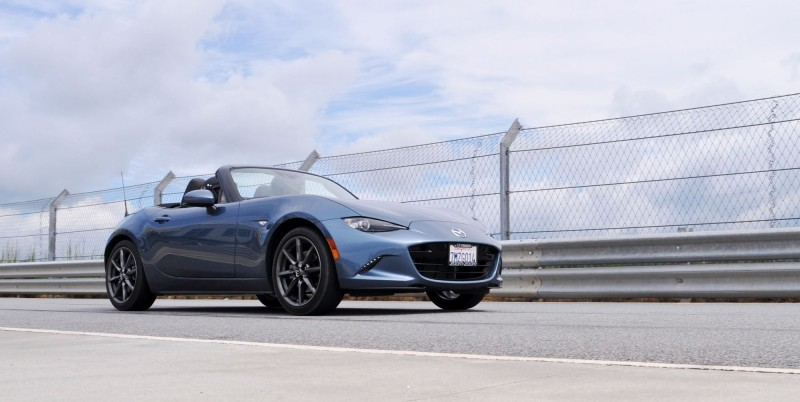 HD First Track Drive Review - 2016 Mazda MX-5 107