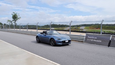 HD First Track Drive Review - 2016 Mazda MX-5 70