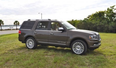 HD Road Test Review - 2015 Lincoln NAVIGATOR 4x4 Reserve 16