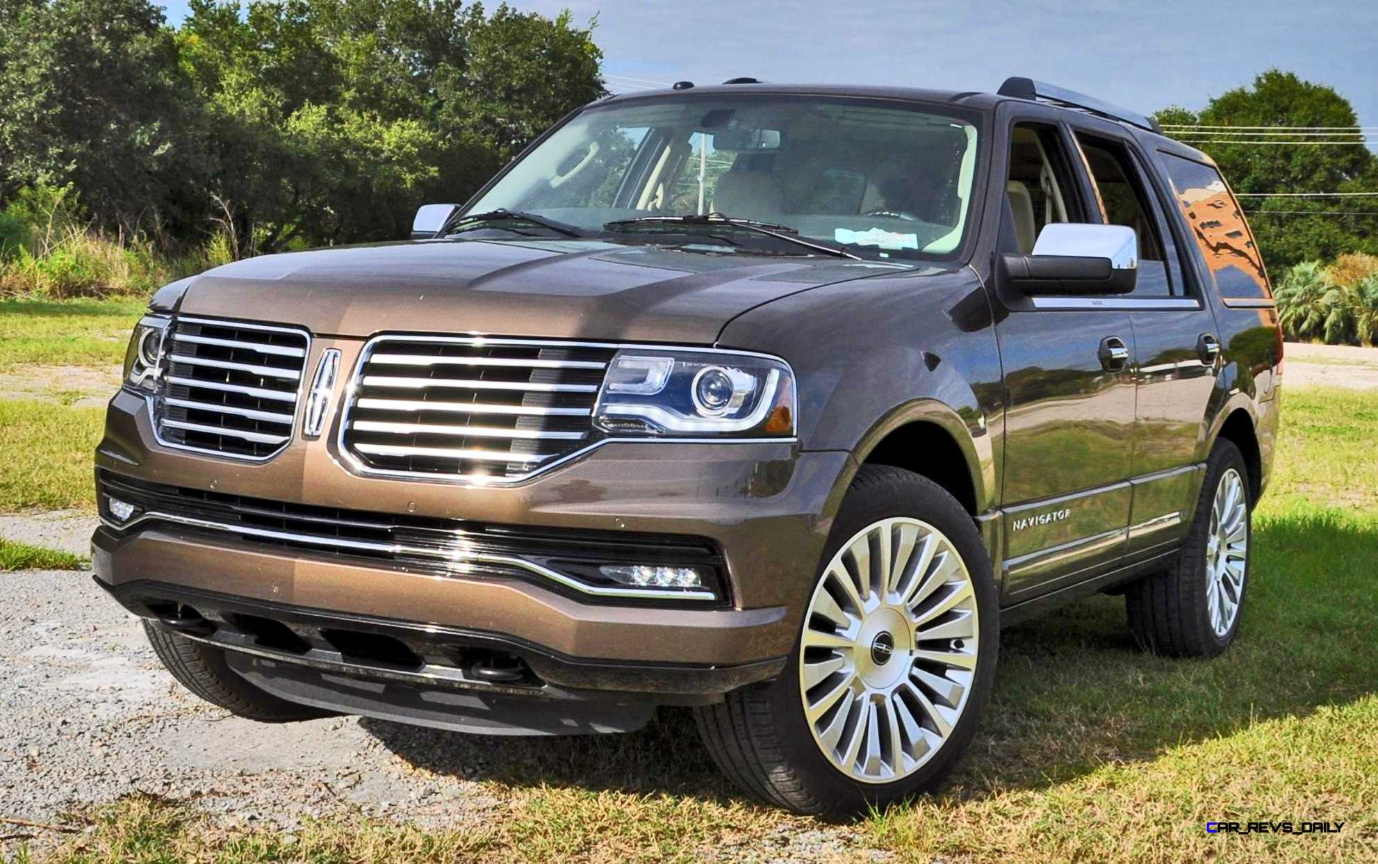 hd road test review 2015 lincoln navigator 4 4 reserve best full size suv car revs. Black Bedroom Furniture Sets. Home Design Ideas