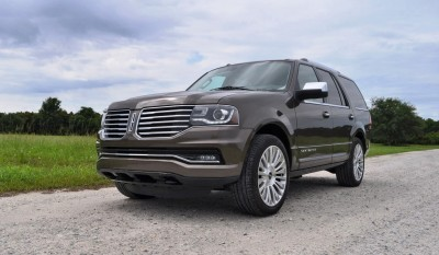HD Road Test Review - 2015 Lincoln NAVIGATOR 4x4 Reserve 63