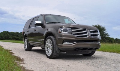 HD Road Test Review - 2015 Lincoln NAVIGATOR 4x4 Reserve 69