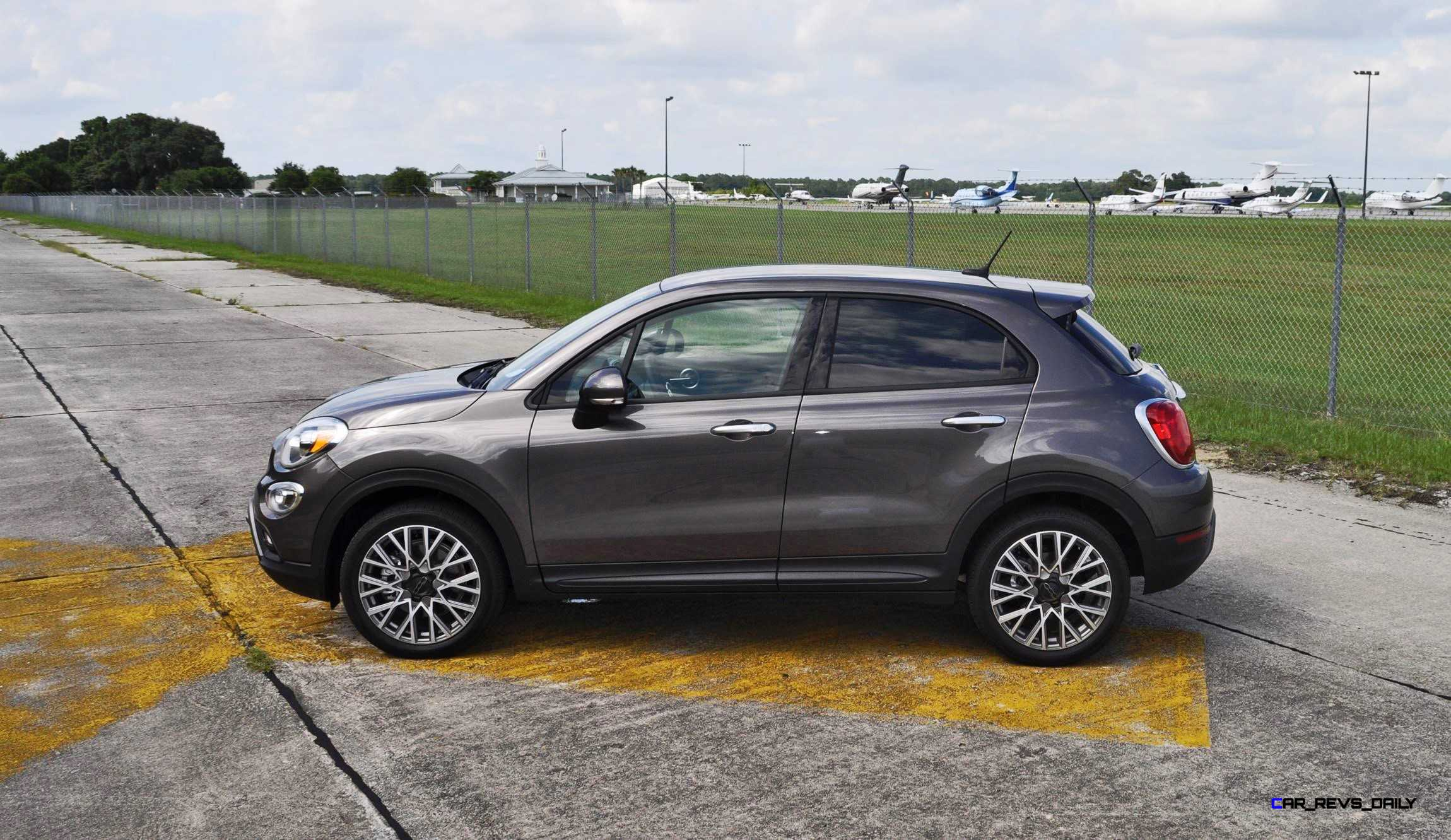 hd road test review 2016 fiat 500x trekking 20. Black Bedroom Furniture Sets. Home Design Ideas