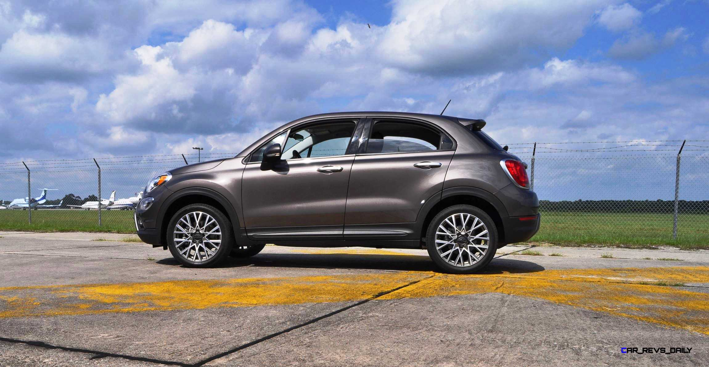 hd road test review 2016 fiat 500x trekking 44. Black Bedroom Furniture Sets. Home Design Ideas