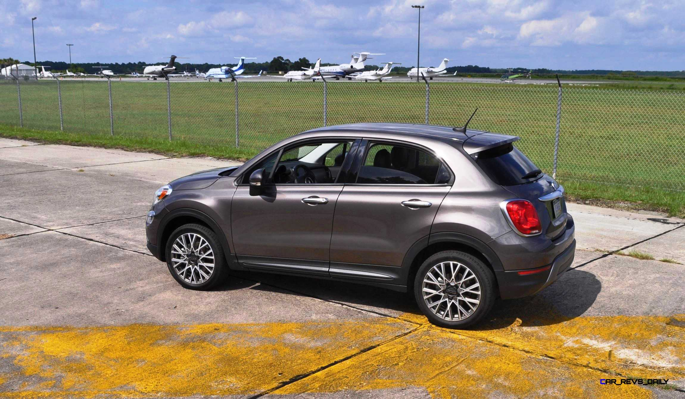 hd road test review 2016 fiat 500x trekking 52. Black Bedroom Furniture Sets. Home Design Ideas