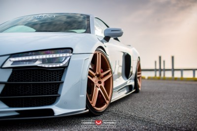 Hamana Audi R8 V10 - Vossen Forged VPS-302 Wheels -_20171631260_o