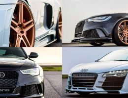 VOSSEN Audi R8 V10 and RS6 Avant by Hamana Japan Prove Bronze Alloy Beauty
