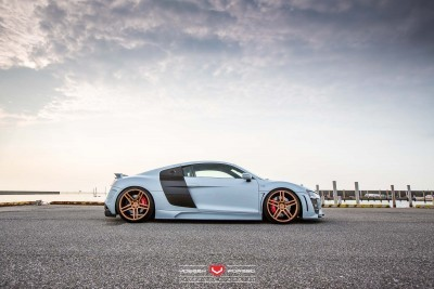 Hamana Audi R8 V10 - Vossen Forged VPS-302 Wheels -_20351184692_o