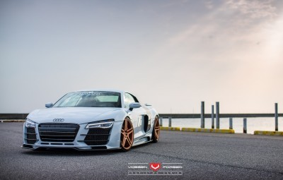 Hamana Audi R8 V10 - Vossen Forged VPS-302 Wheels -_20351185832_o