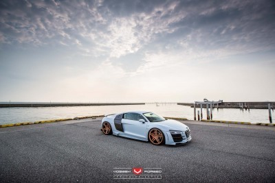 Hamana Audi R8 V10 - Vossen Forged VPS-302 Wheels -_20365793151_o