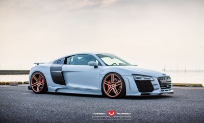 Hamana Audi R8 V10 - Vossen Forged VPS-302 Wheels -_20365793221_o