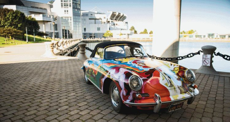 Janis Joplin 1964 Porsche 356C