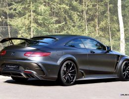 985HP MANSORY Black Edition S63 Coupe Debuts Before Frankfurt with Giant Rear Wing!