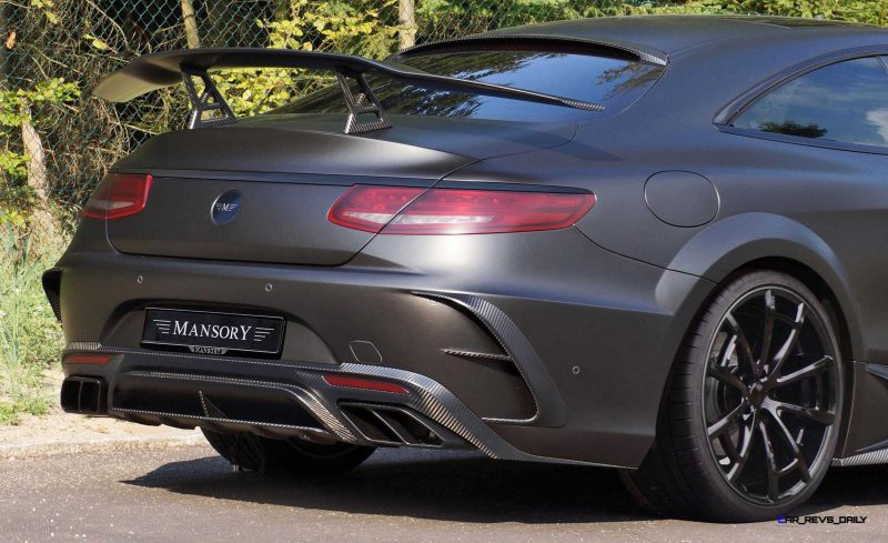 MANSORY Black Edition S63 Coupe 2