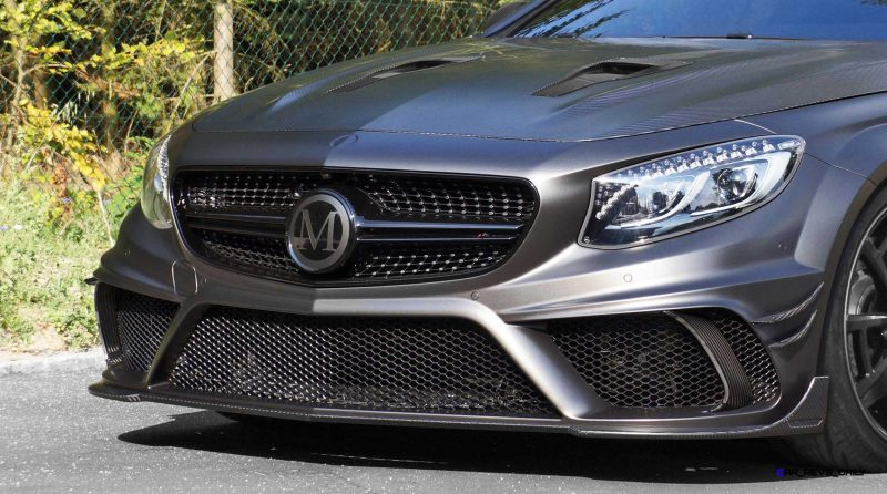 MANSORY Black Edition S63 Coupe 6