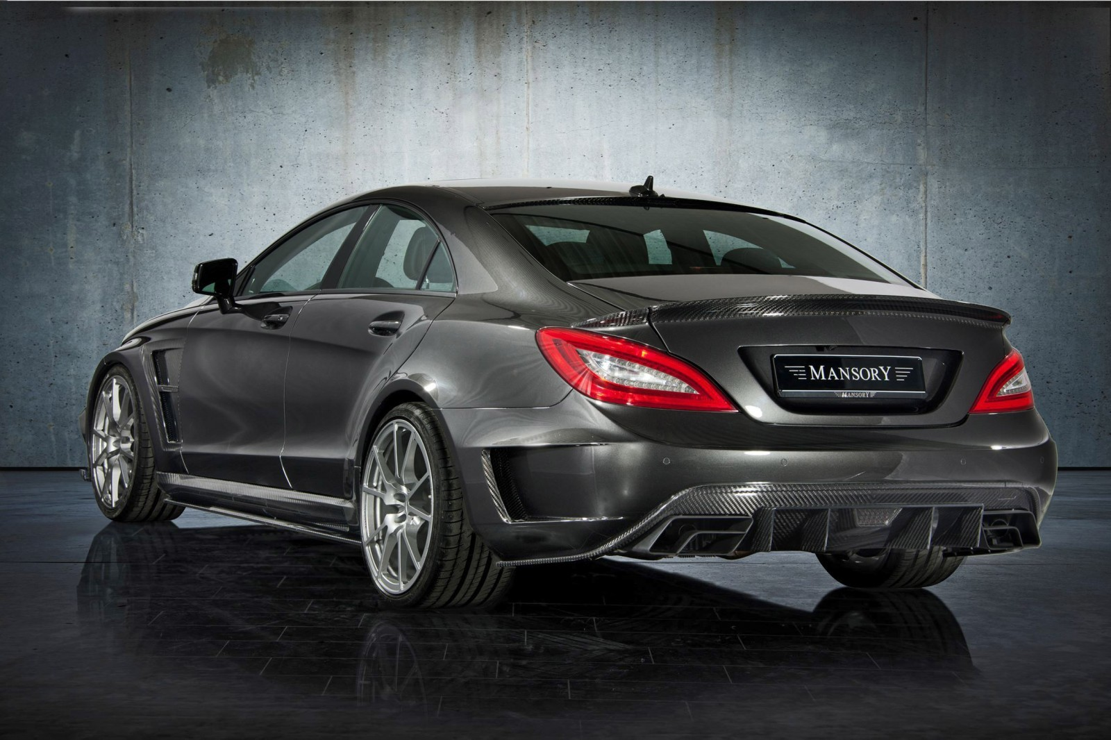 Mansory S63 Black Edition Coupe