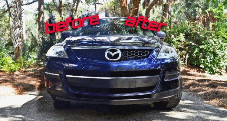 Mazda CX-9 DIY CF Nose Wrap