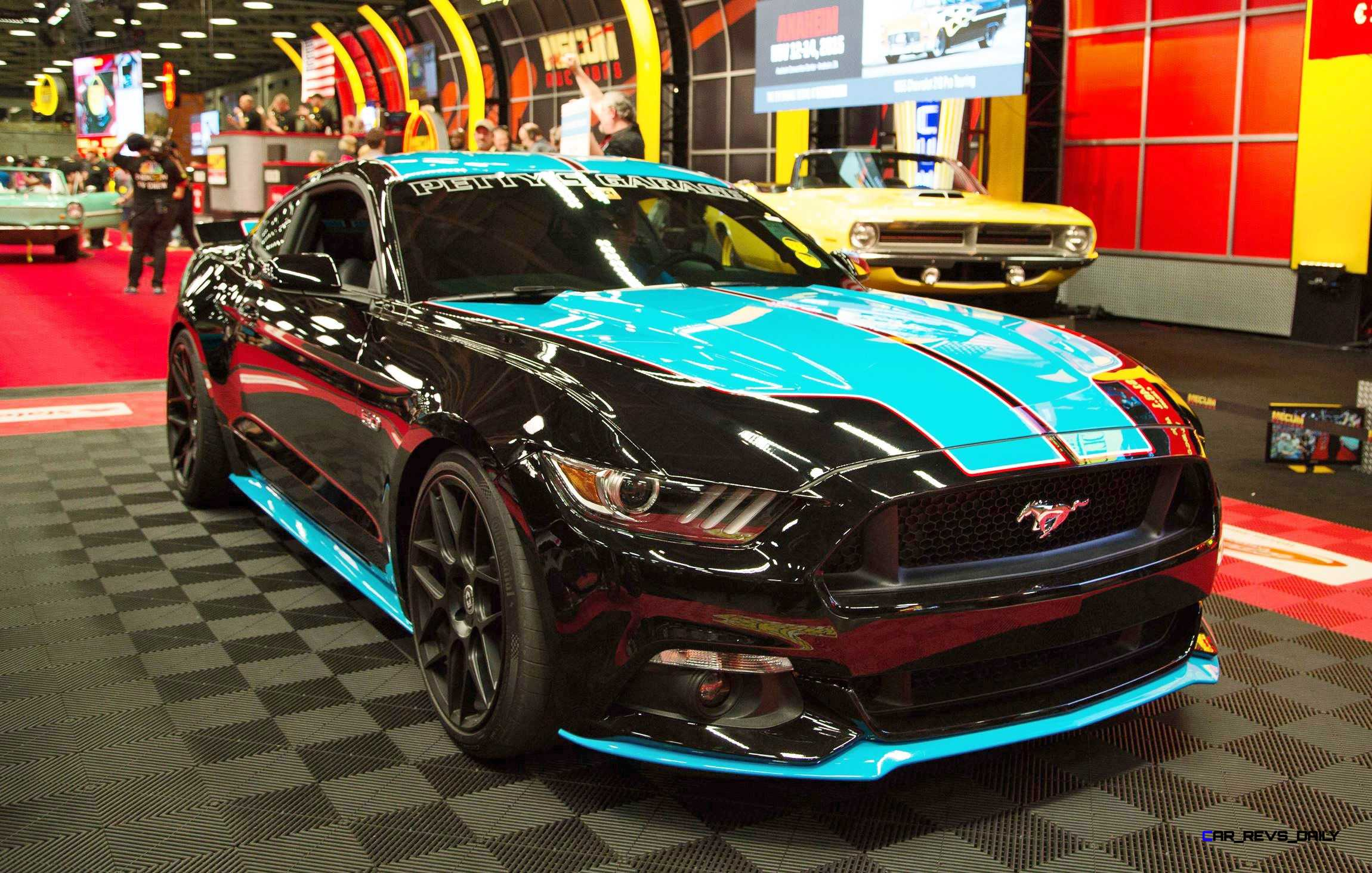 2015 ford mustang gt pettys garage leads mecum dallas 2015 for Garage gt auto