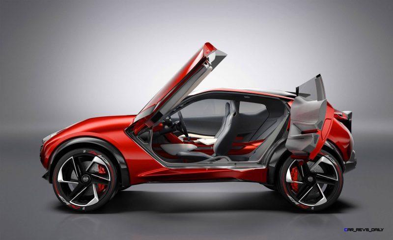 Nissan Gripz Concept: Un radical crossover deportivo