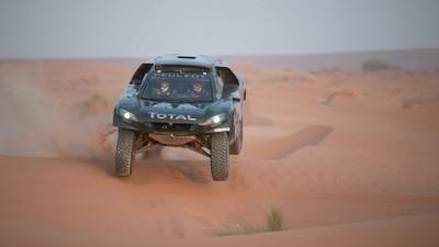 PEUGEOT 2008 DKR16 Morocco Sept Shakedown 27