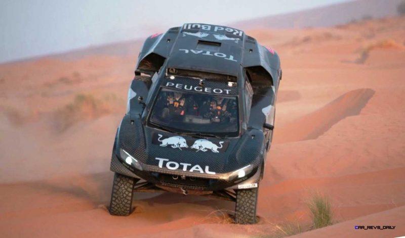PEUGEOT 2008 DKR16 Morocco Sept Shakedown 33