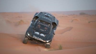 PEUGEOT 2008 DKR16 Morocco Sept Shakedown 36