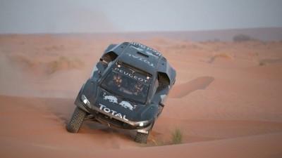 PEUGEOT 2008 DKR16 Morocco Sept Shakedown 39