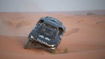 PEUGEOT 2008 DKR16 Morocco Sept Shakedown 40