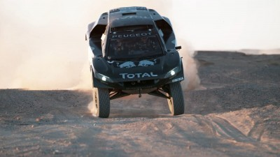PEUGEOT 2008 DKR16 Morocco Sept Shakedown 46