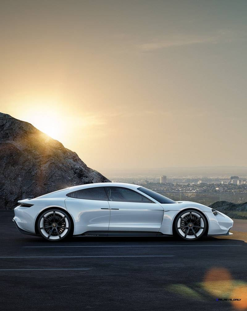 Porsche Mission E 4