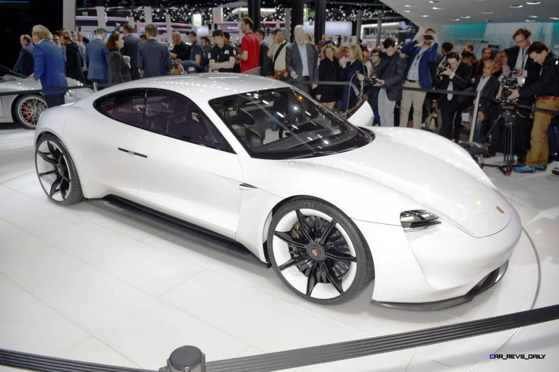 Porsche Mission E Frankfurt IAA 1