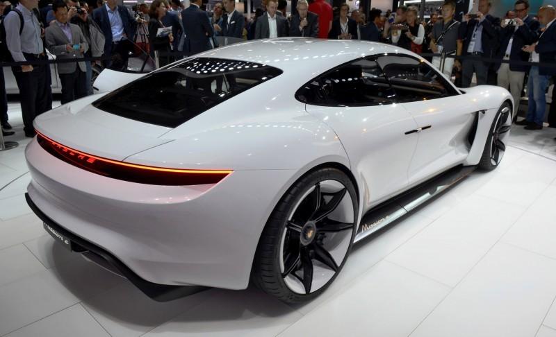 Porsche Mission E Frankfurt IAA 10