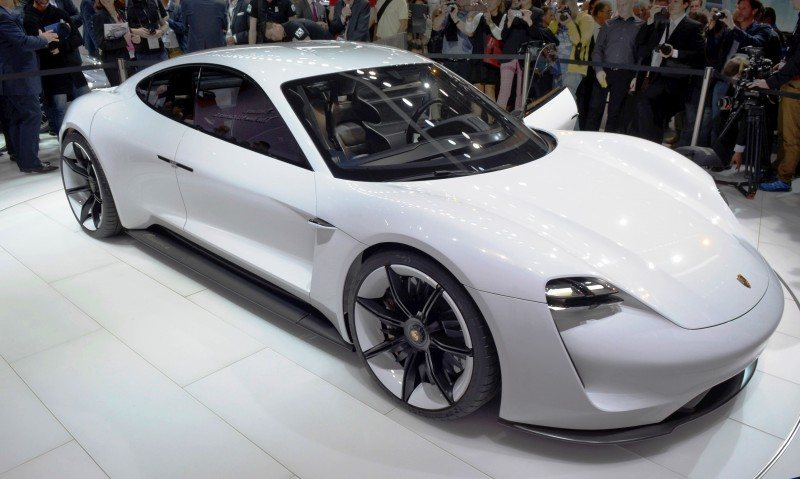 Porsche Mission E Frankfurt IAA 6