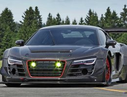 RECON MC8 Is 1000HP Audi R8 V10 Plus with LMS Carbon Reskin and GT3 Aero