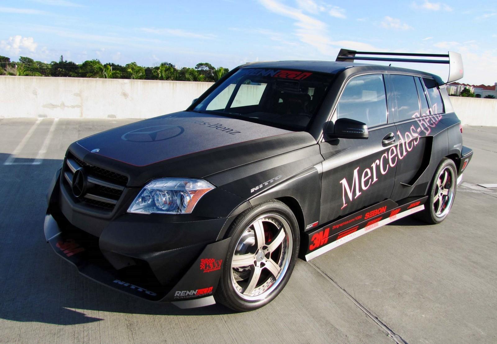 Renntech 2011 mercedes benz glk350 spec r hybrid pikes peak 19 for Mercedes benz accessories glk350