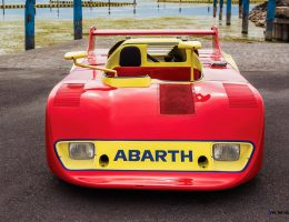 RM London 2015 – 1974 Abarth 2000 SE 027 Is Ultimate Soapbox Fantasy Racecar