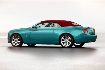 2017 Rolls-Royce DAWN Is Sleek New Wraith Cabrio - Updated With Configurator Details