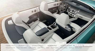 Rolls Royce DAWN Configurator 12